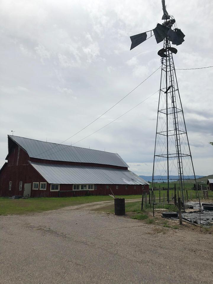 Classic Barn and Weathervane