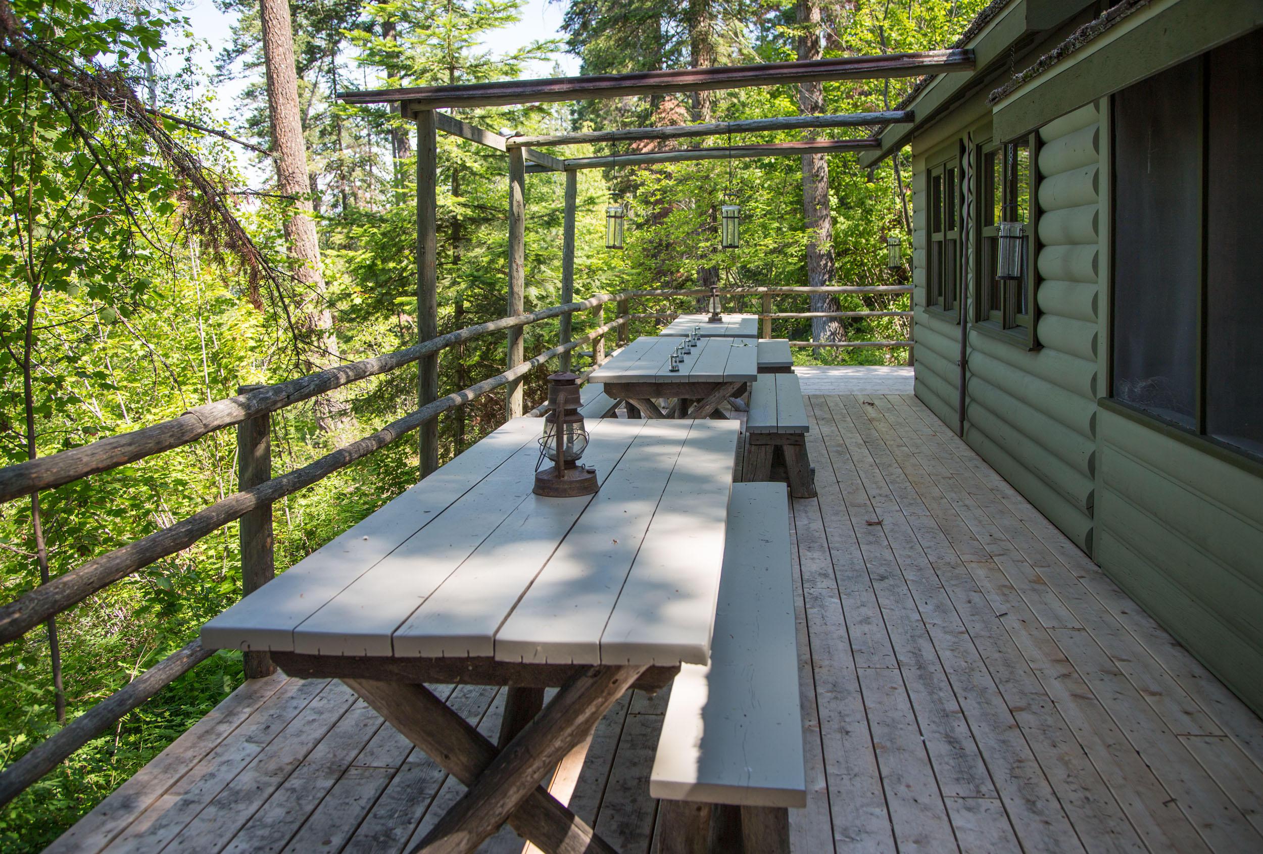 Deer Cabin Deck