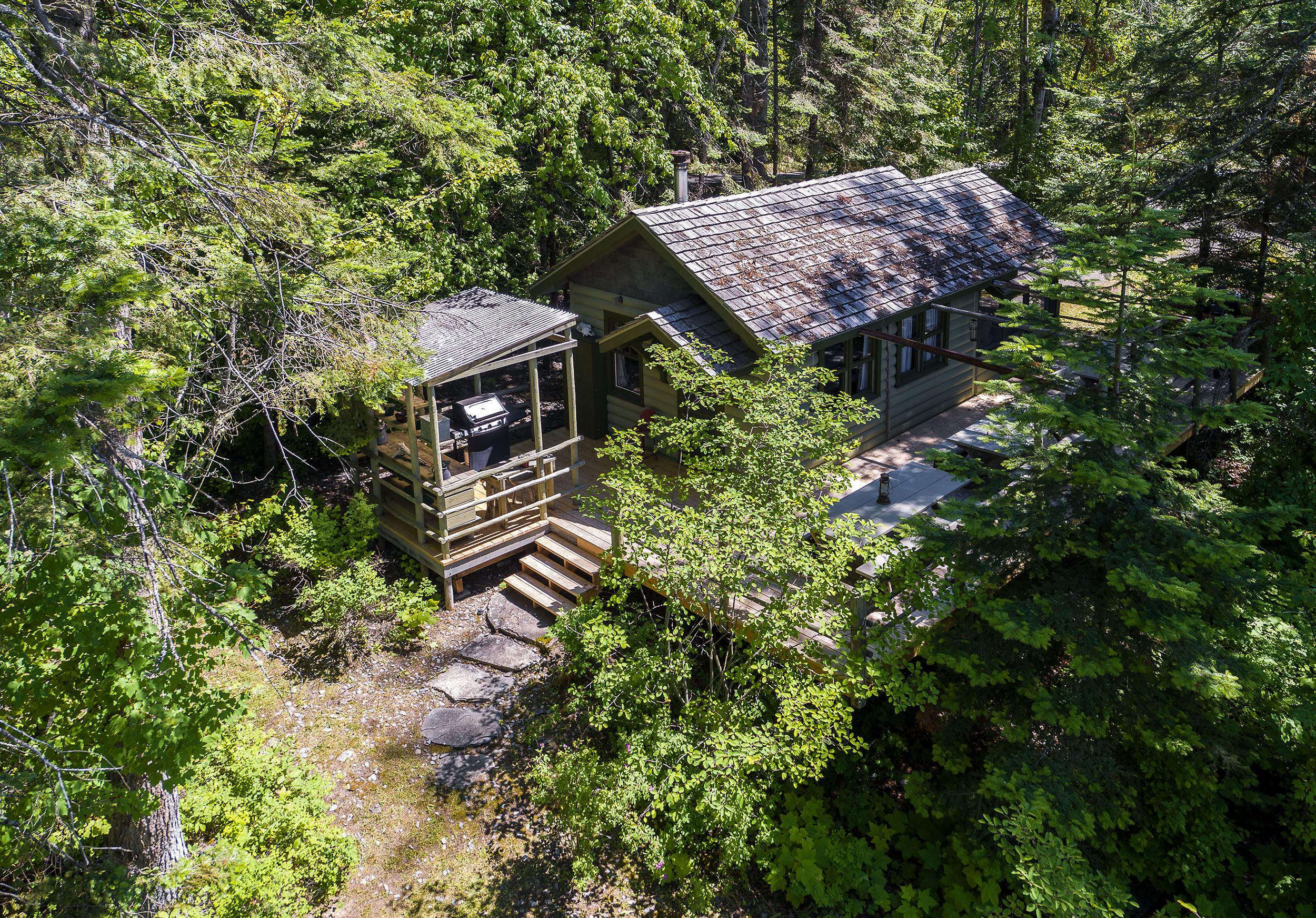 Deer Cabin Aerial