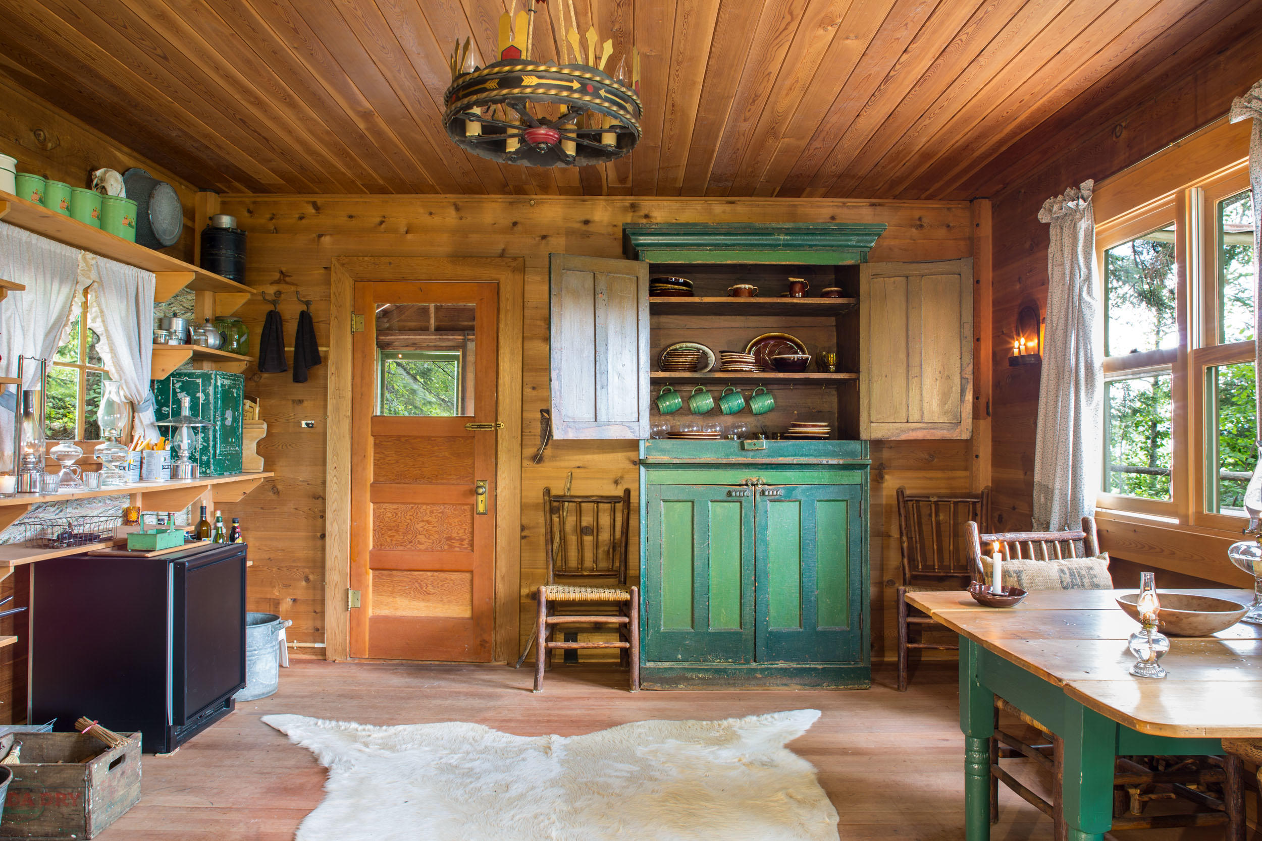 Deer Cabin Interior