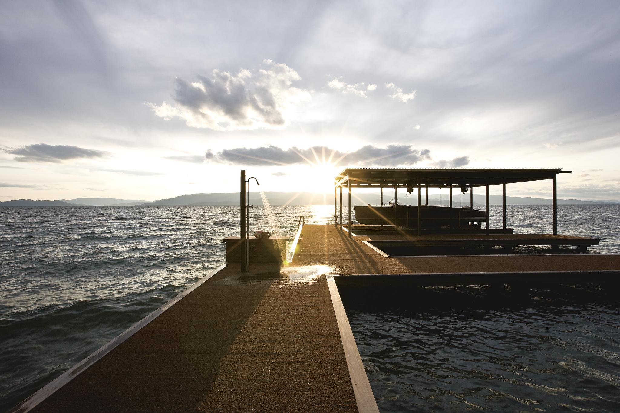 Sunset Boat Dock