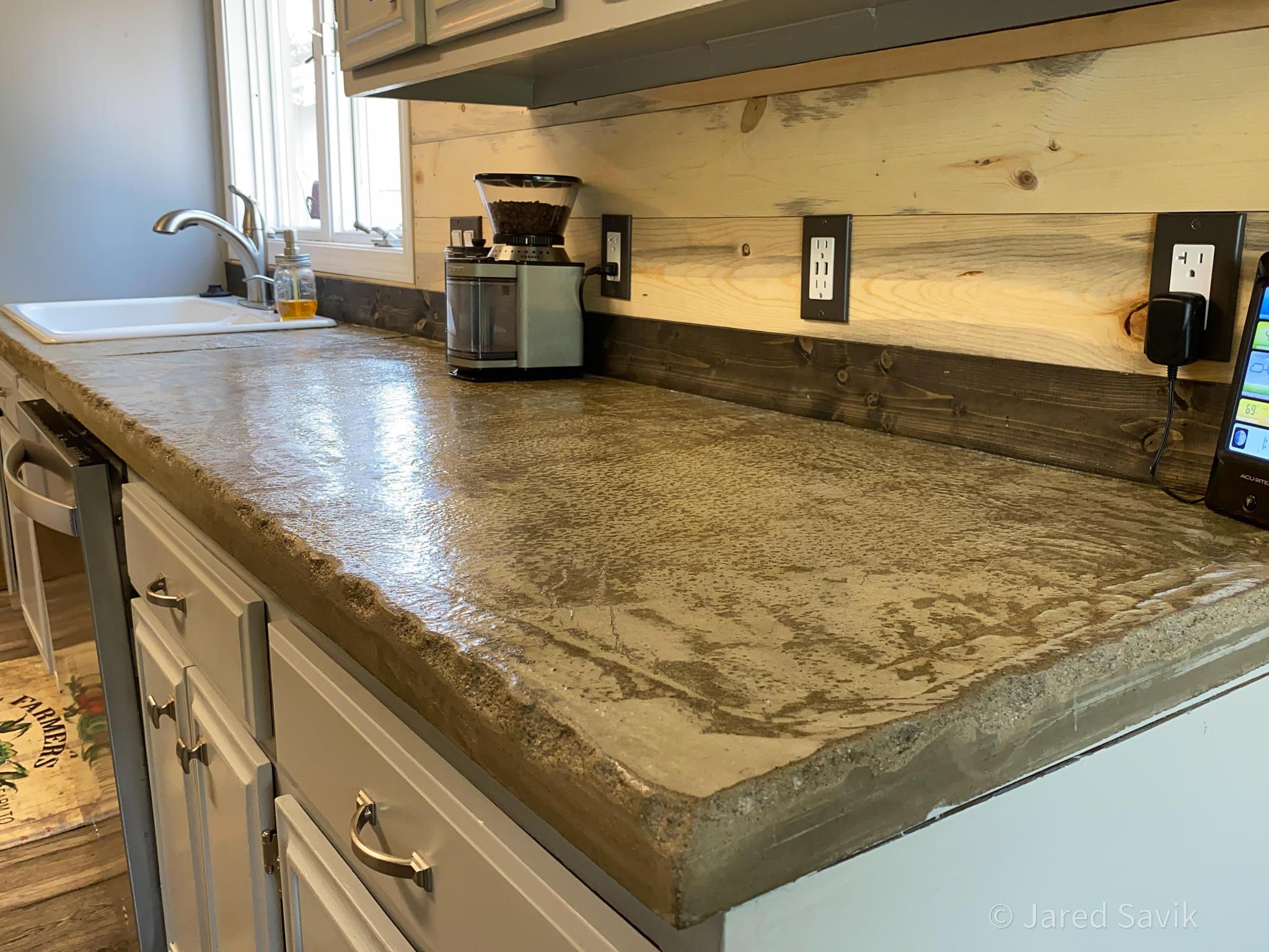 concrete countertop 2