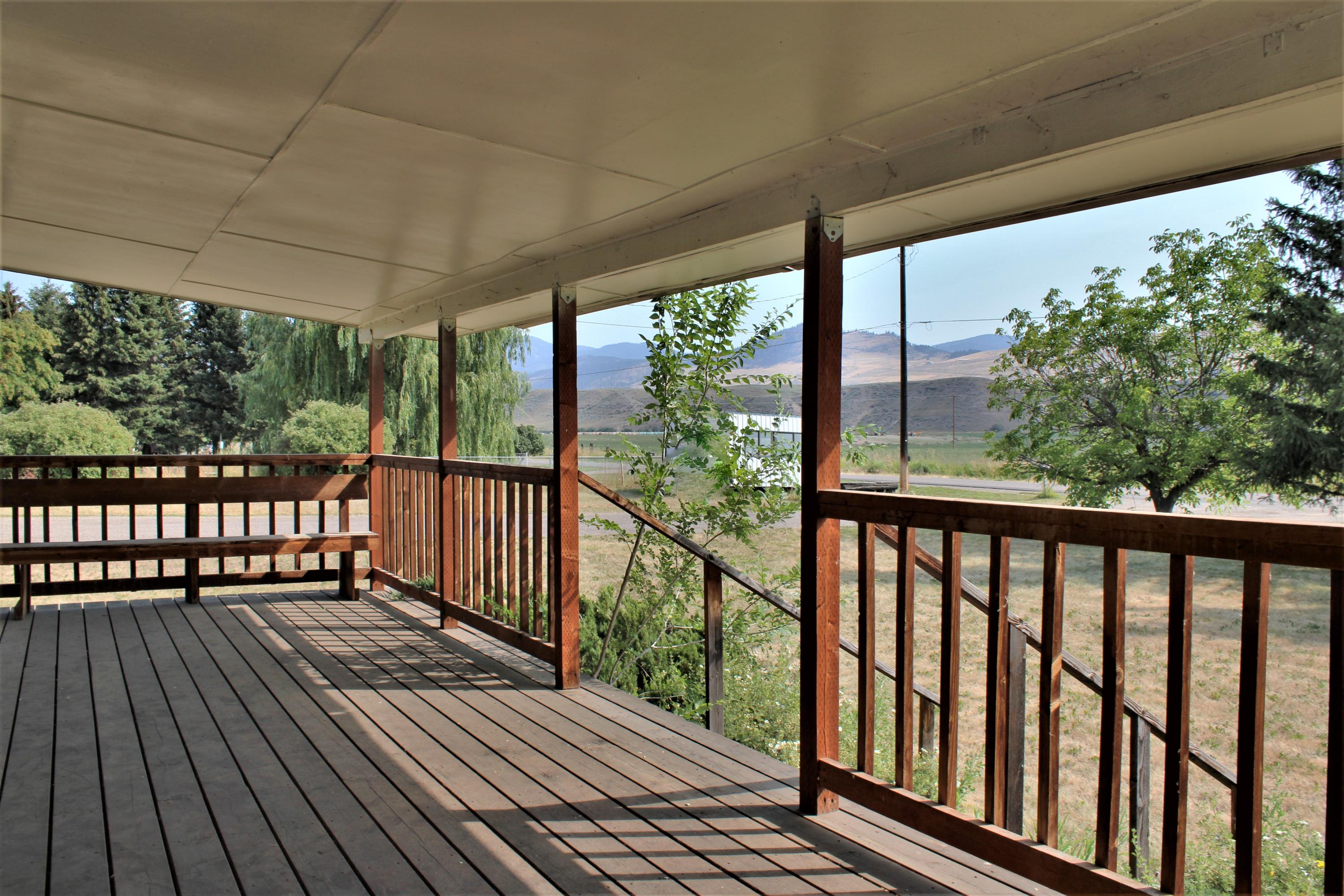 Covered Front Porch Deck