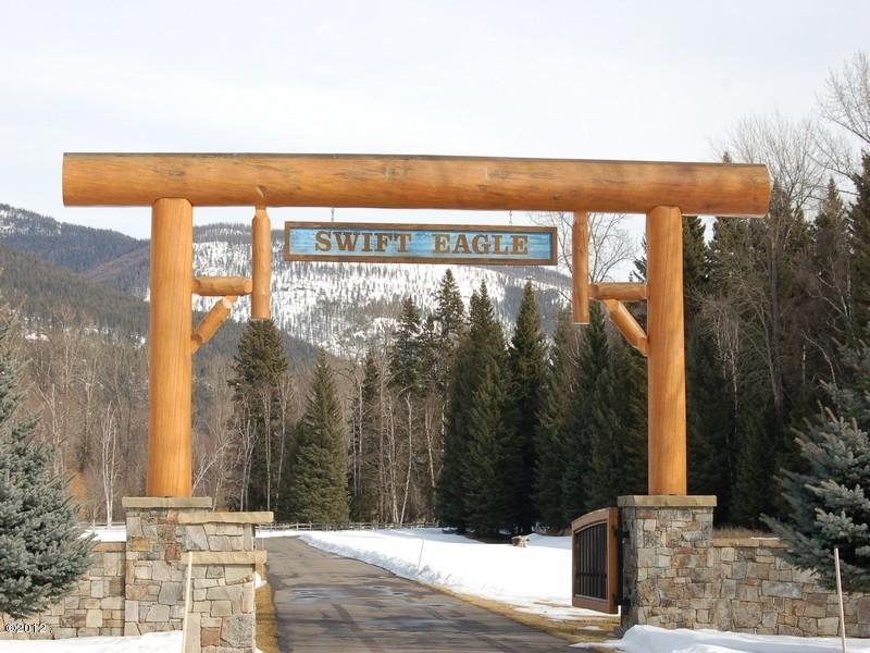 Swift Eagle entrance in winter
