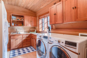 Main house laundry room