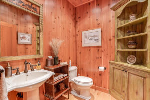 Main house powder room