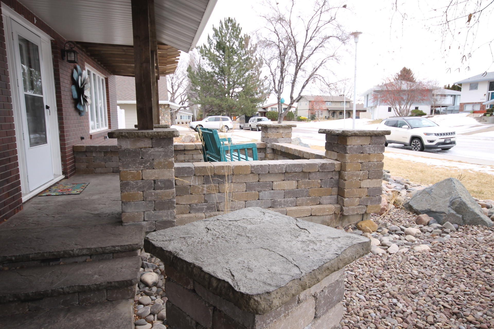 rock patio