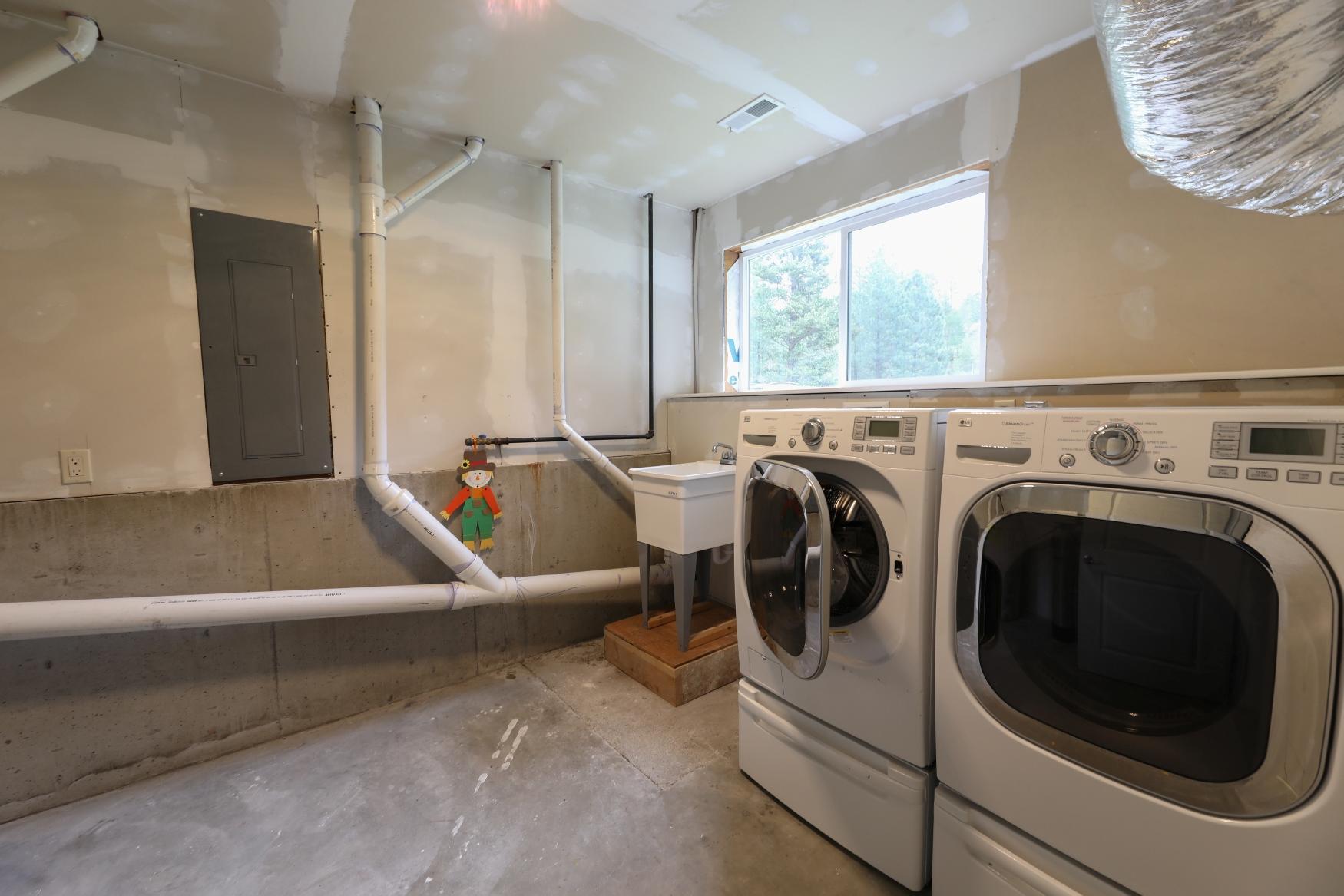 Lower Level Laundry/Mechanical Room