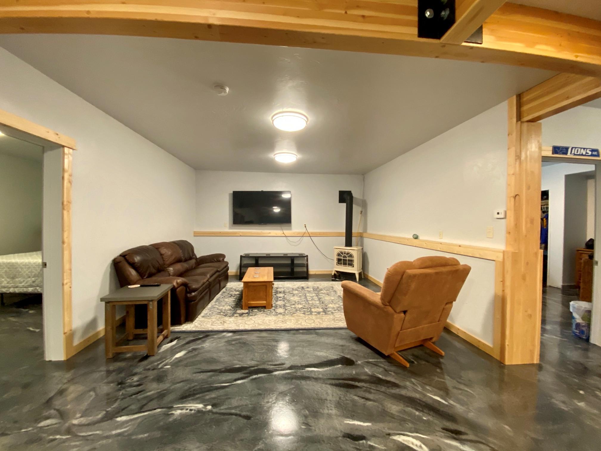 Lower Unit Living Room