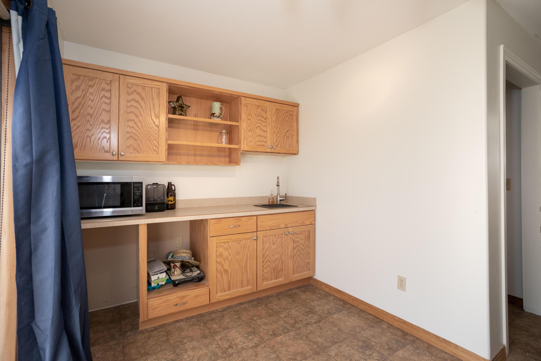 Guest Bedroom/Studio Kitchenette Area