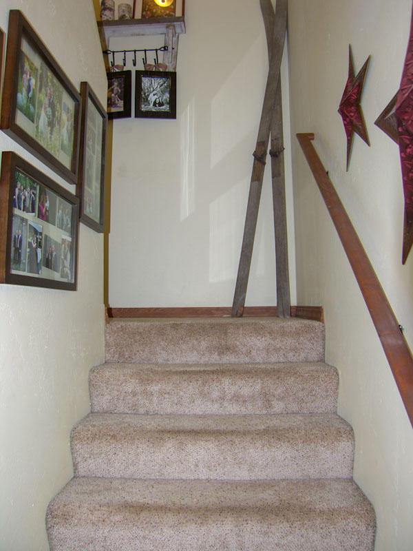 Stairs to upstairs