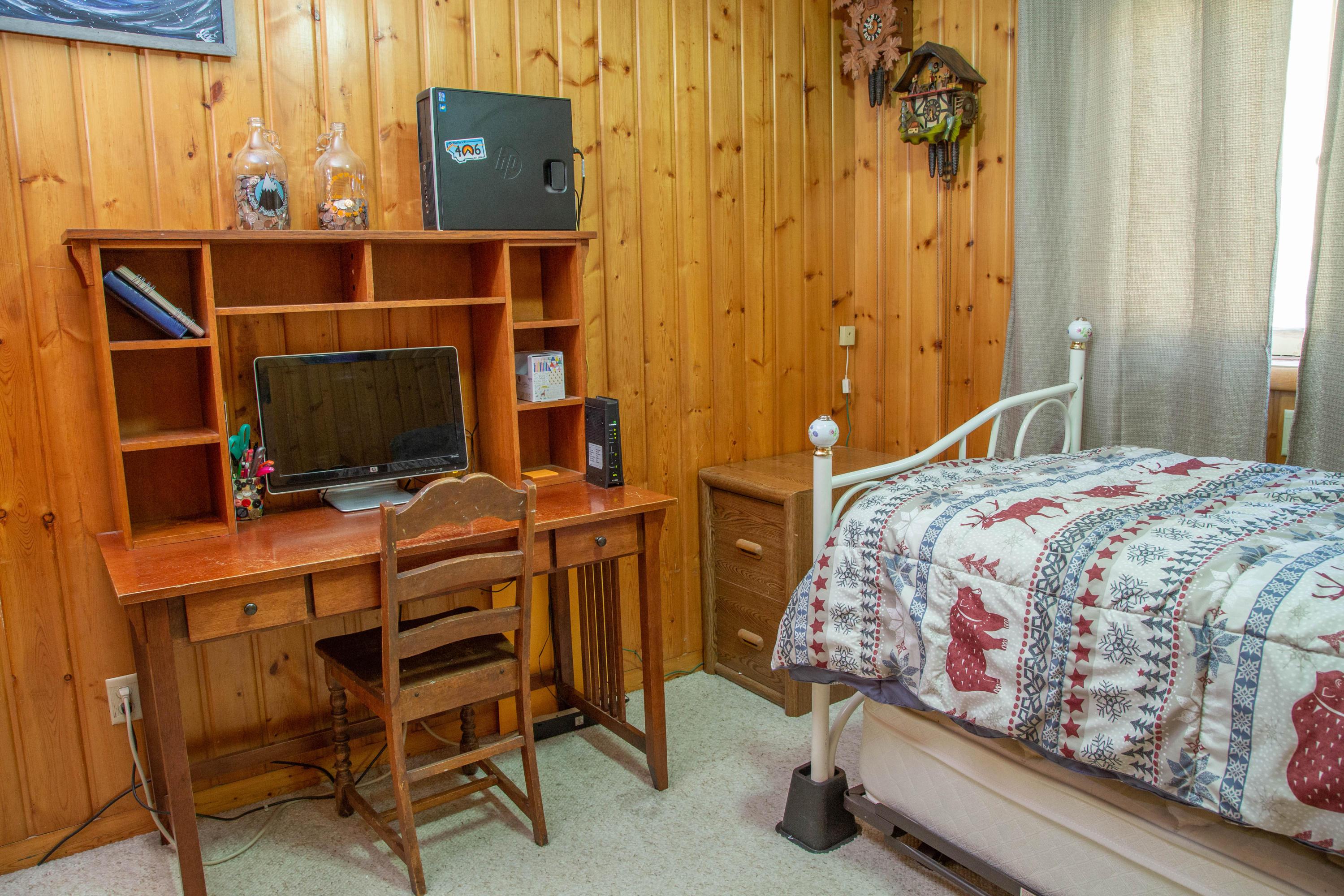 BEDROOM #3 (MAIN FLOOR)