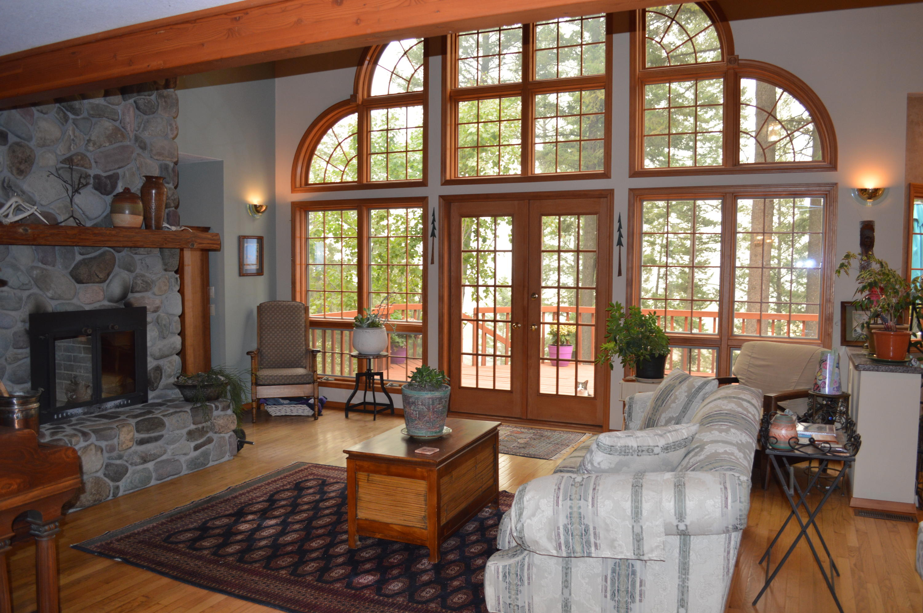 Expansive Living Room Windows
