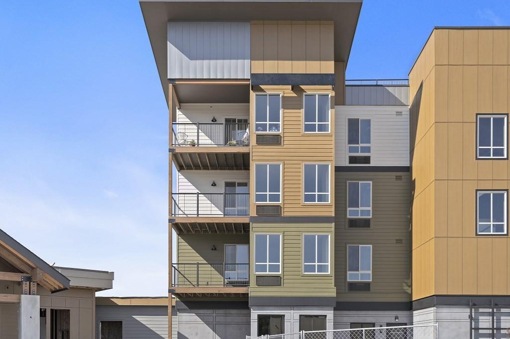 Each unit offers a private balcony