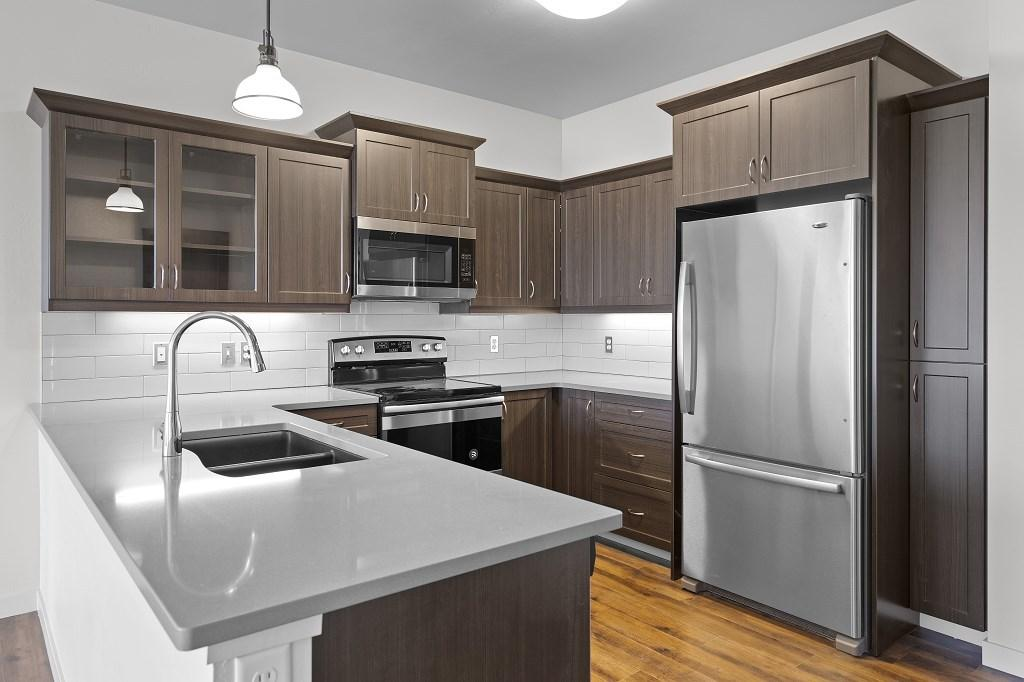 Optional kitchen cabinets