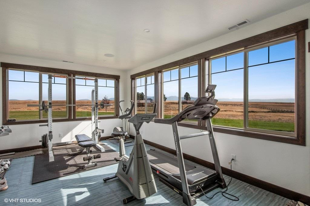Lower Level Workout Room