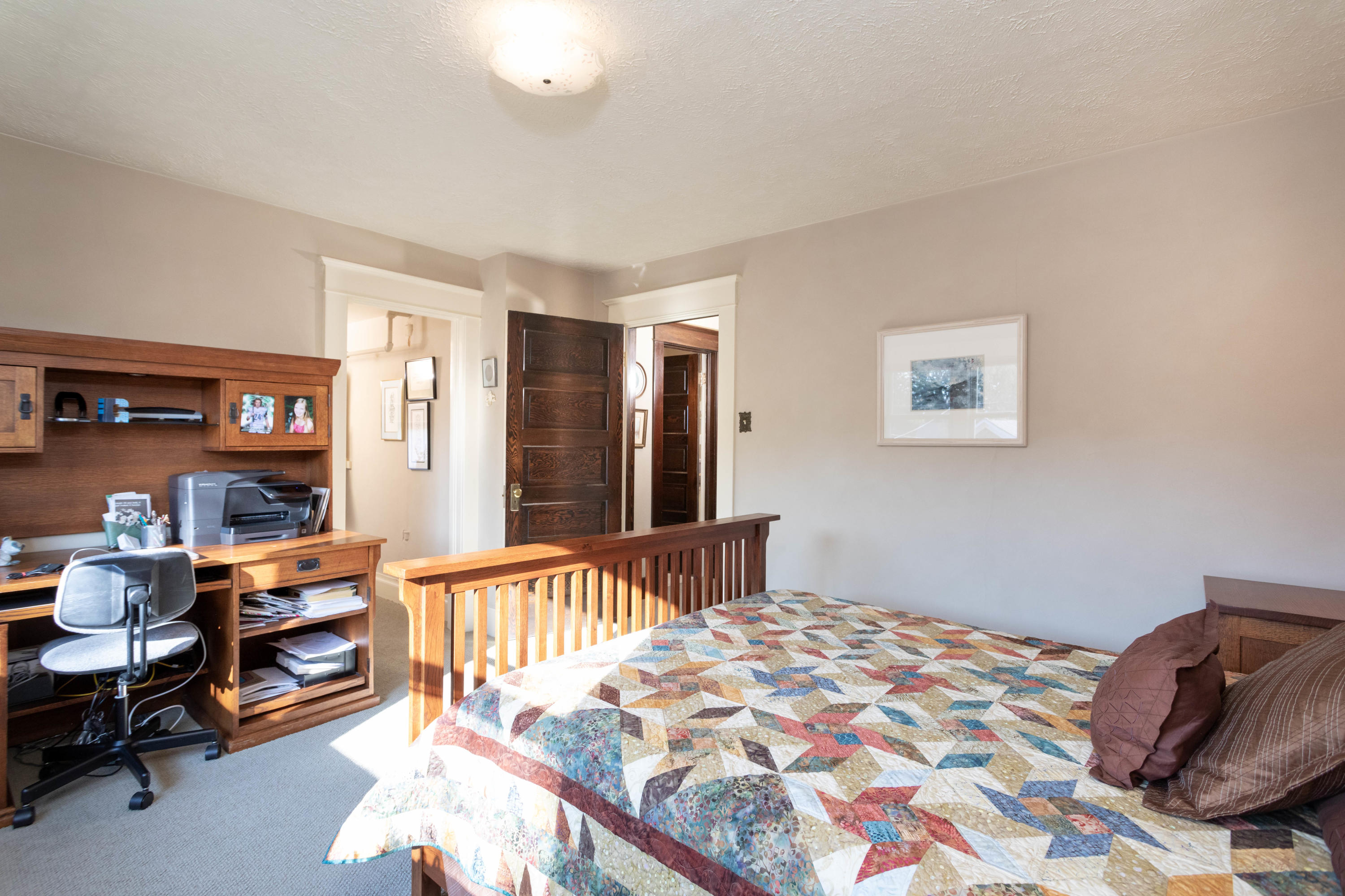 Large 3rd bedroom with walk in closet
