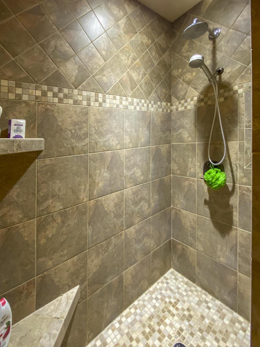 Master Walk in shower