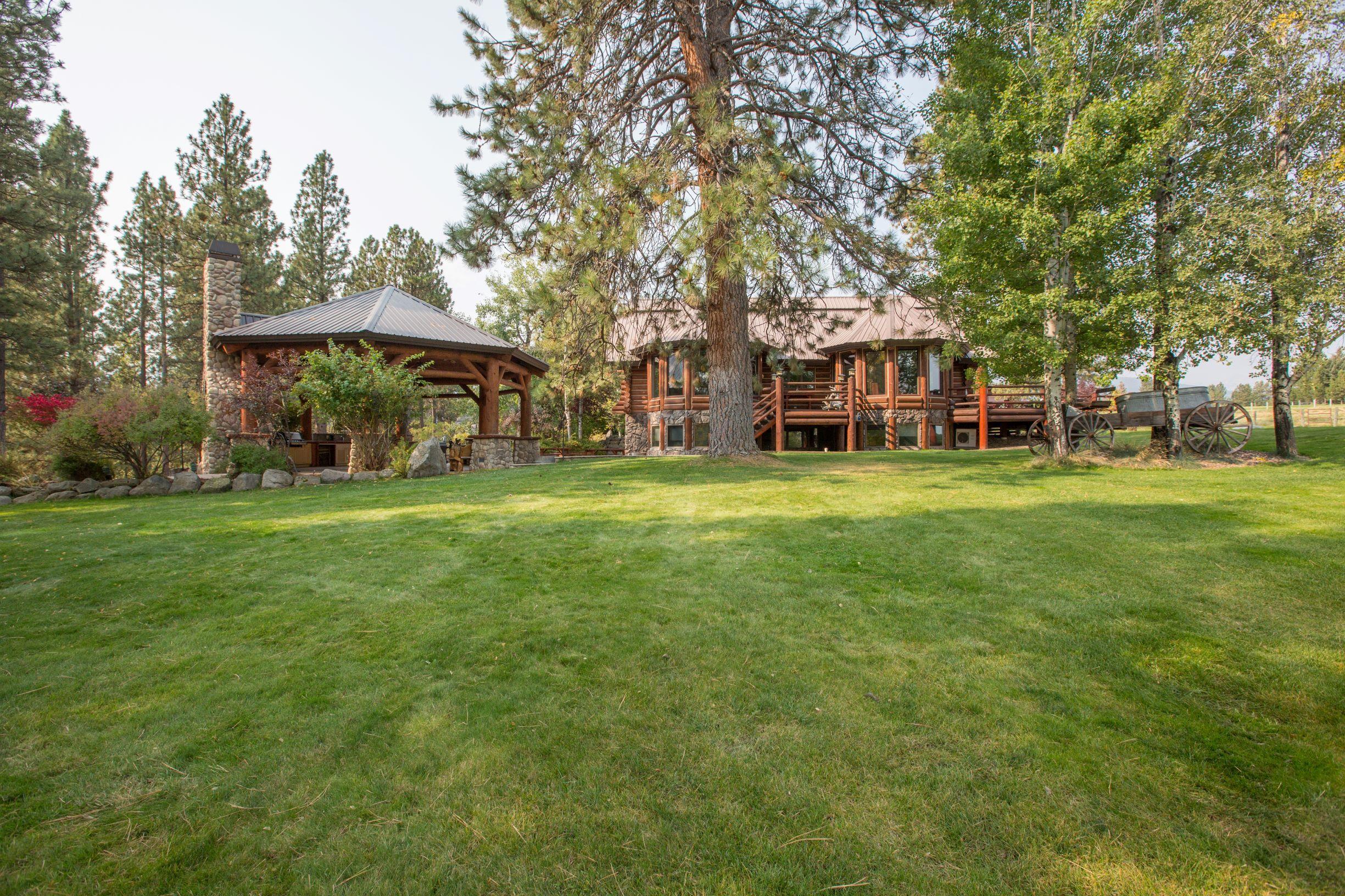 Main Log Home