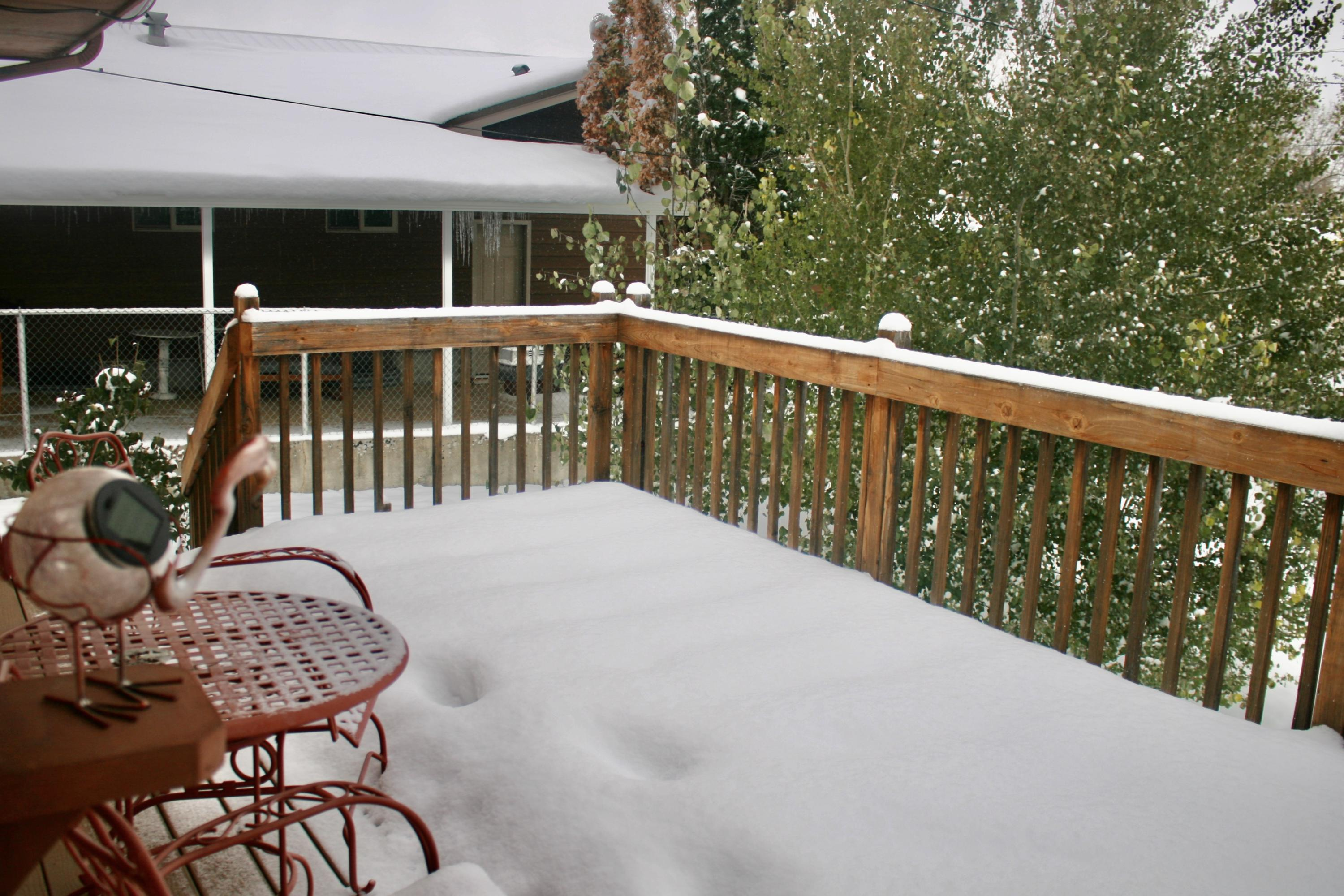 deck off dining room