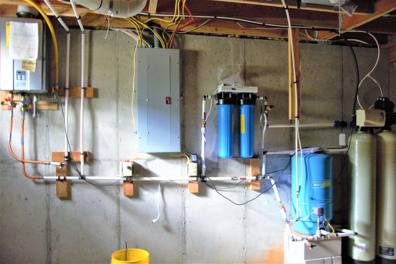 Cabin Basement Utilities