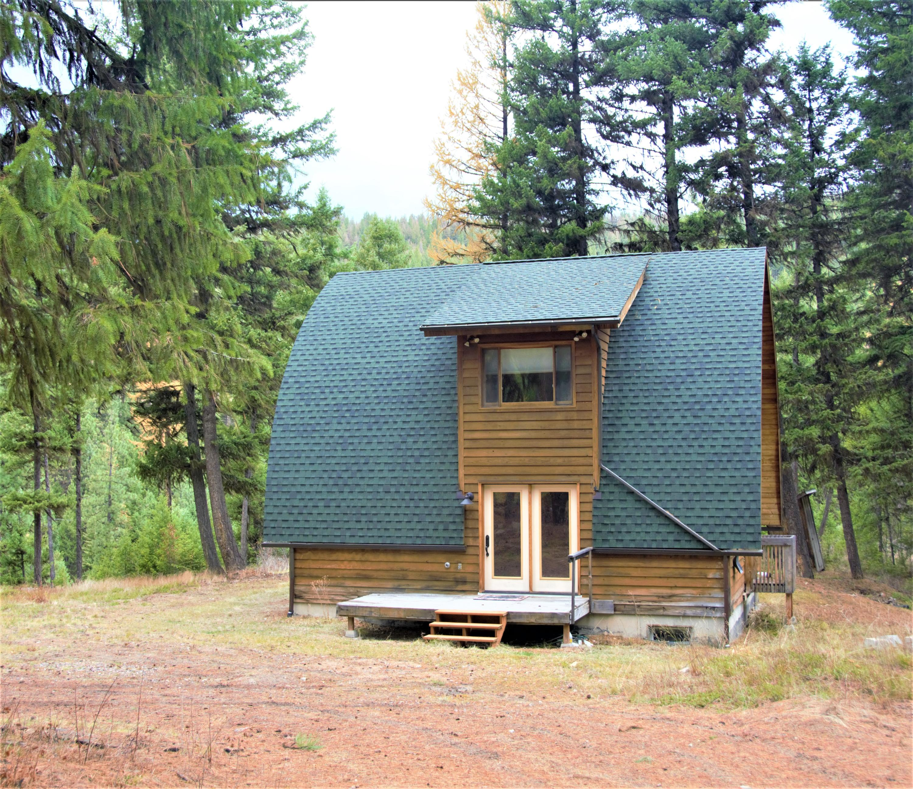 Cabin for Sale Front View