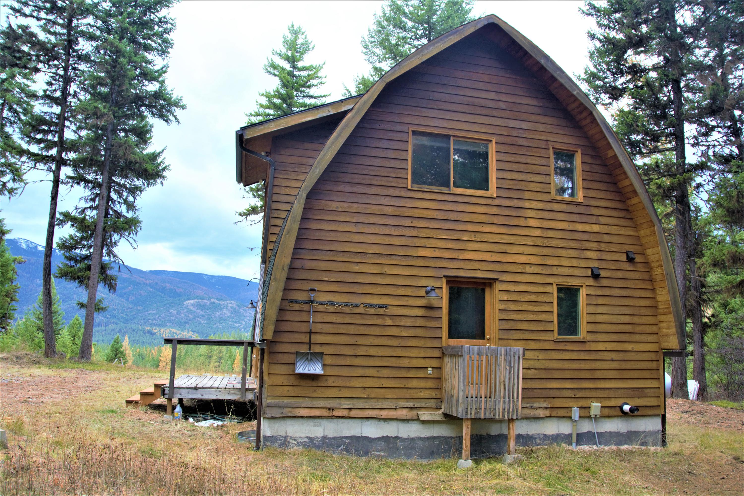 Cabin for Sale Rear View