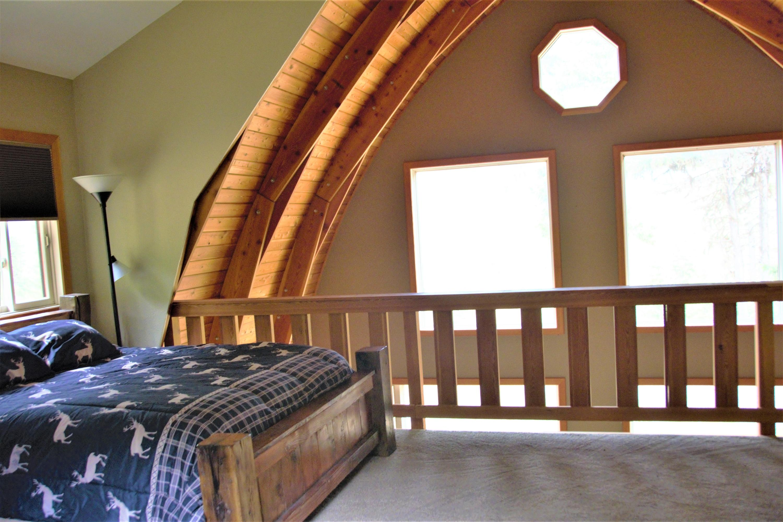 Cabin Loft Bedroom