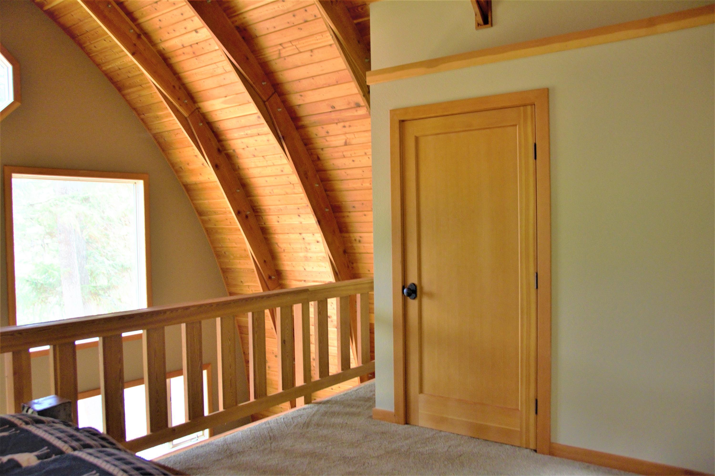 Cabin Loft Closet-Laundry
