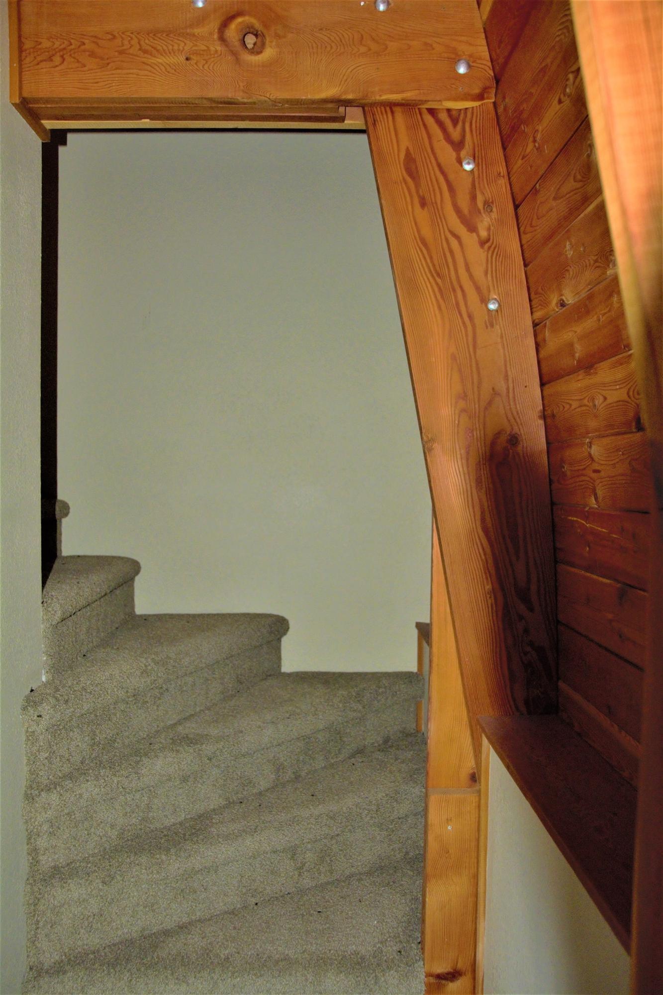 Cabin Loft Stairs 1