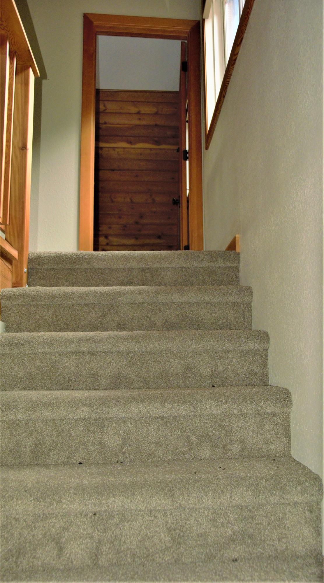 Cabin Loft Stairs