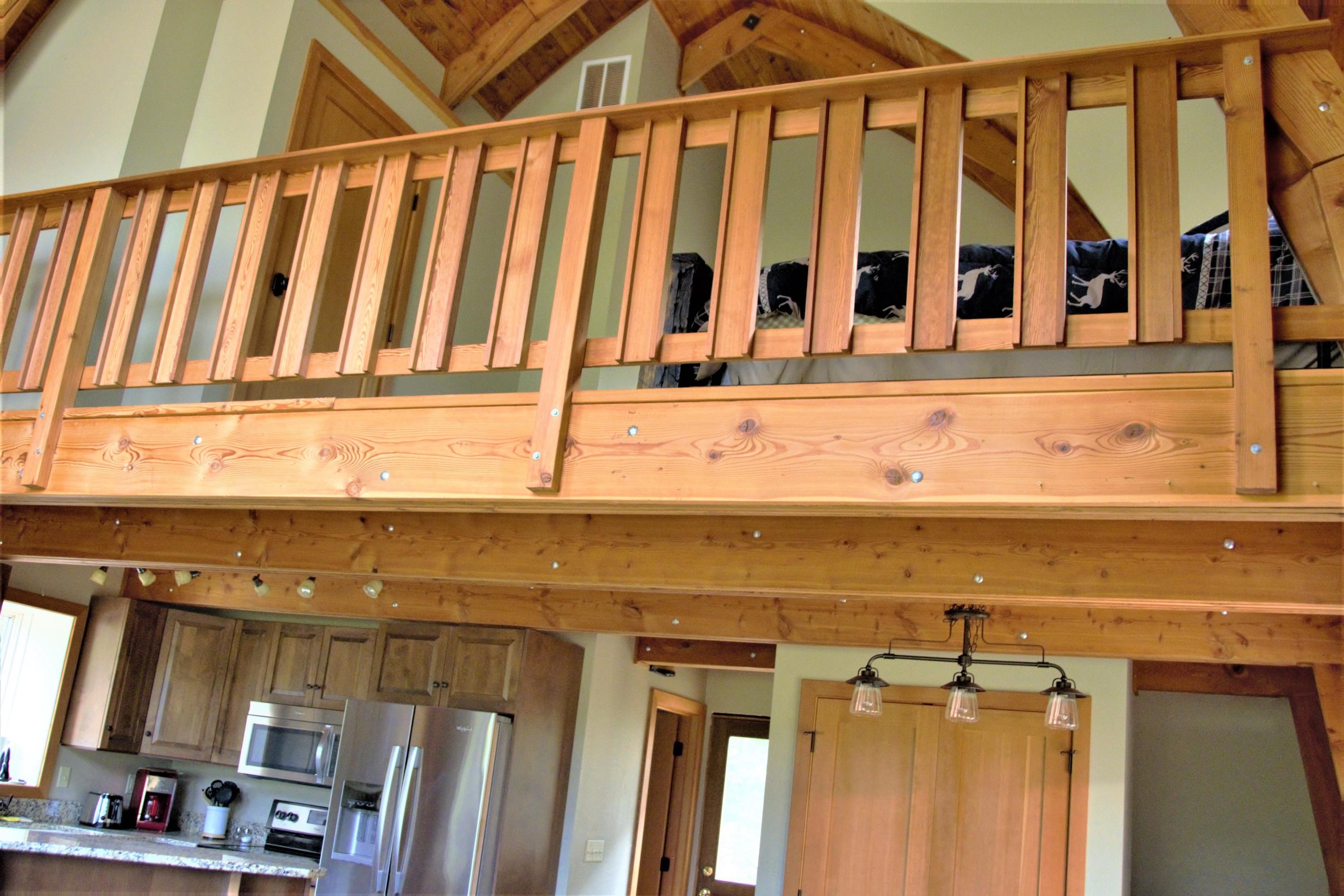 Cabin Loft View