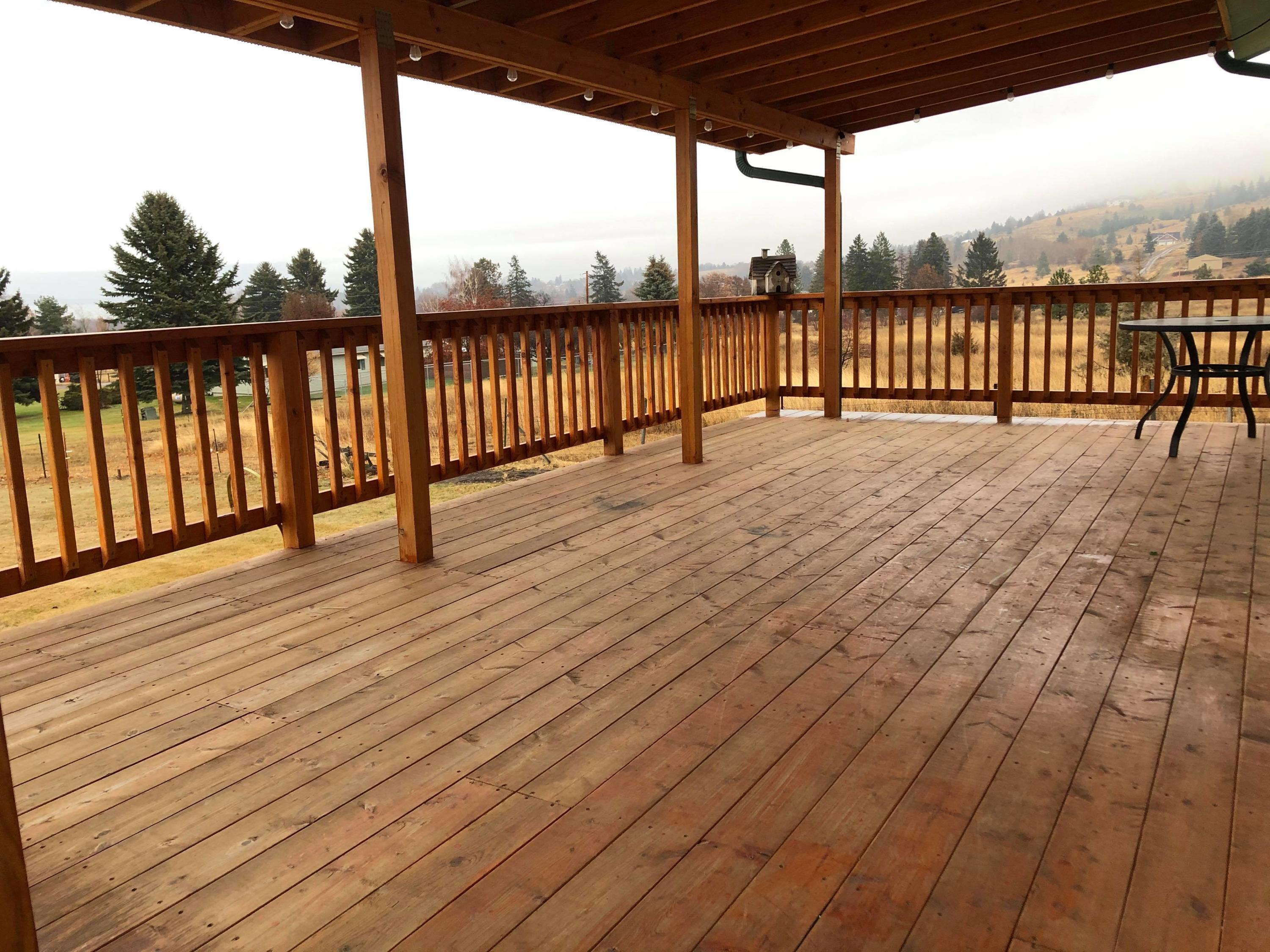 Covered Deck w/ Views