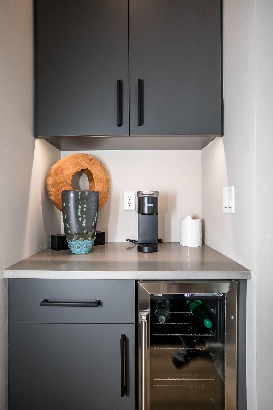 lower level wine fridge