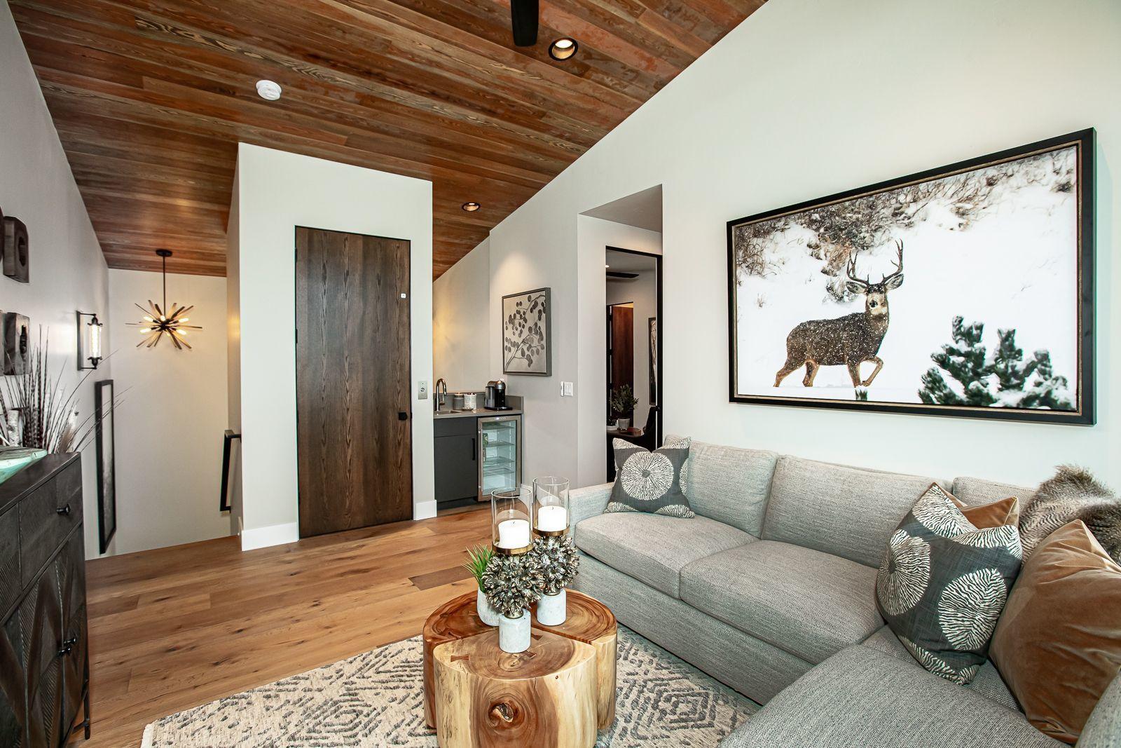 upper level living area
