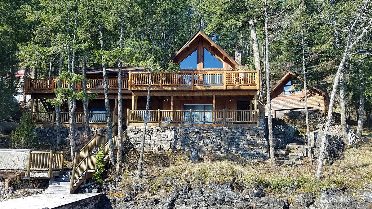 Angel Point Log Home