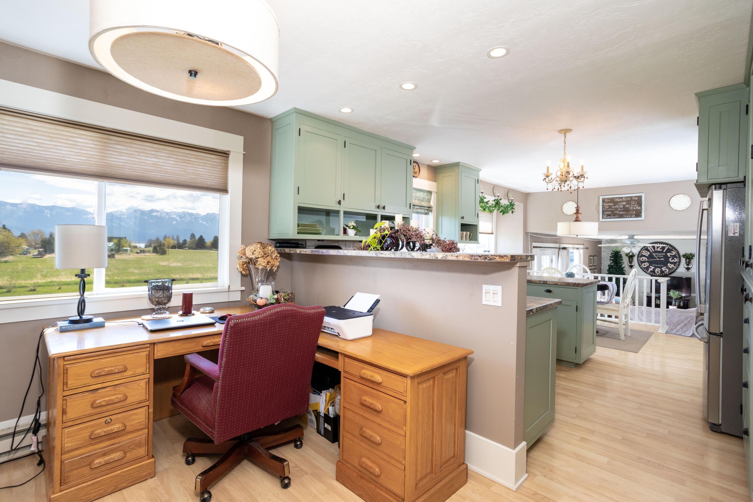 Kitchen to Formal Dining or Office Space