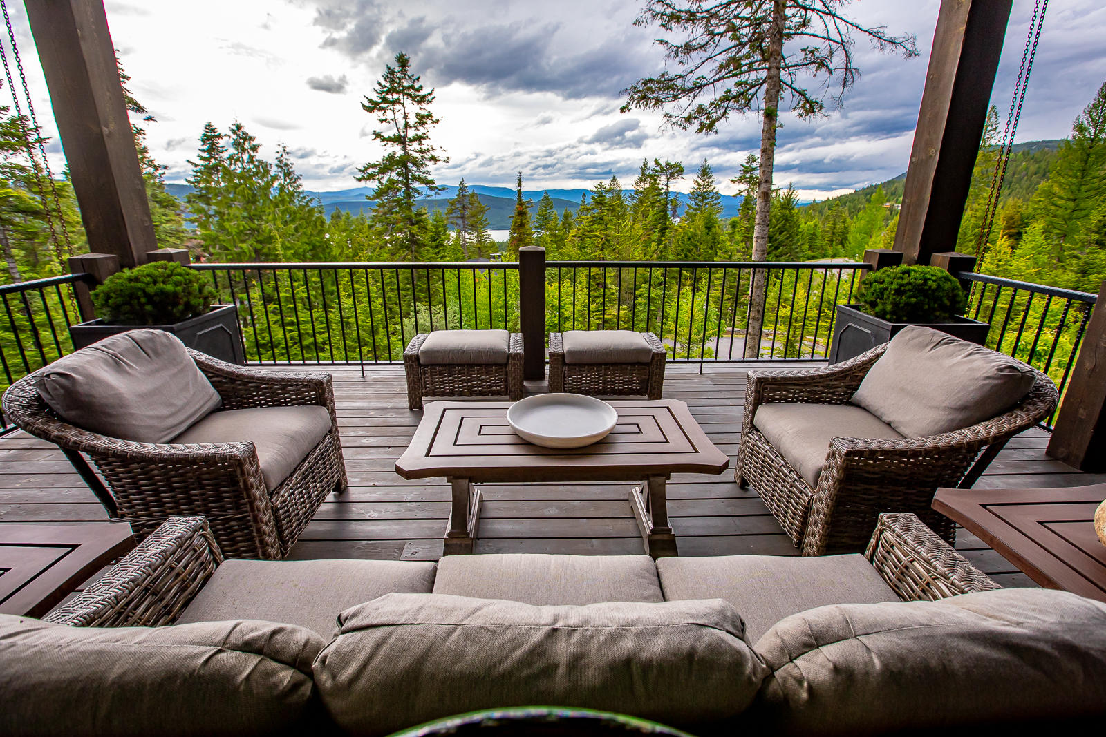 Deck Seating View