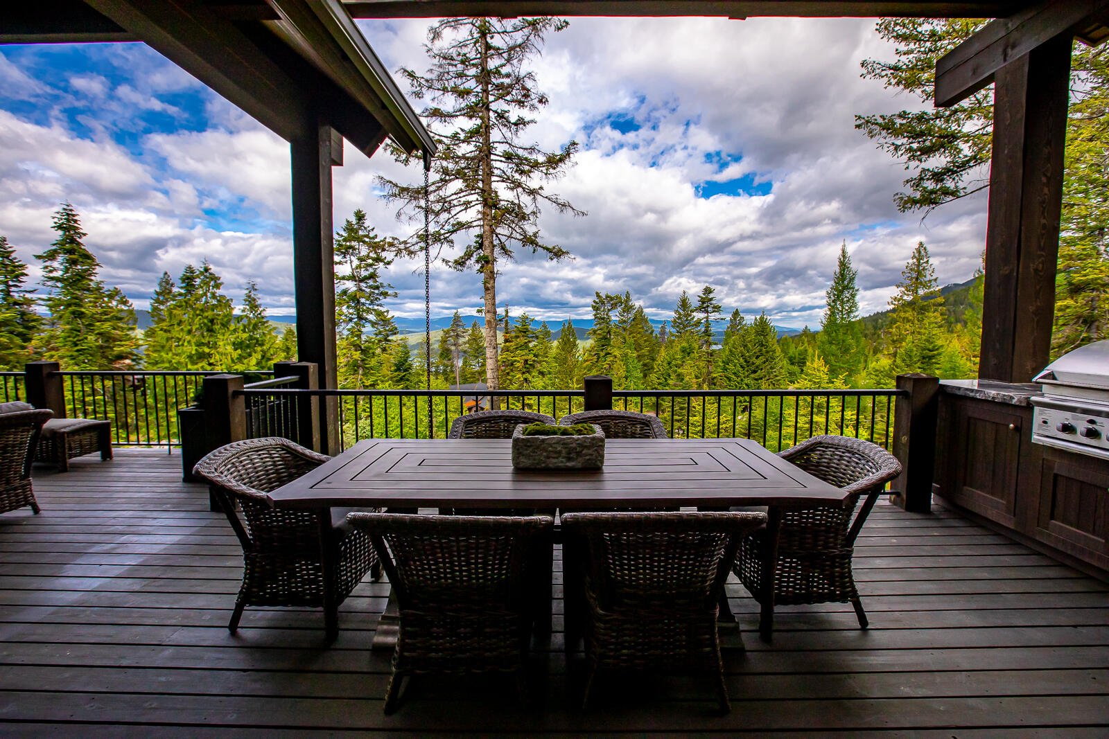 Deck Dining View