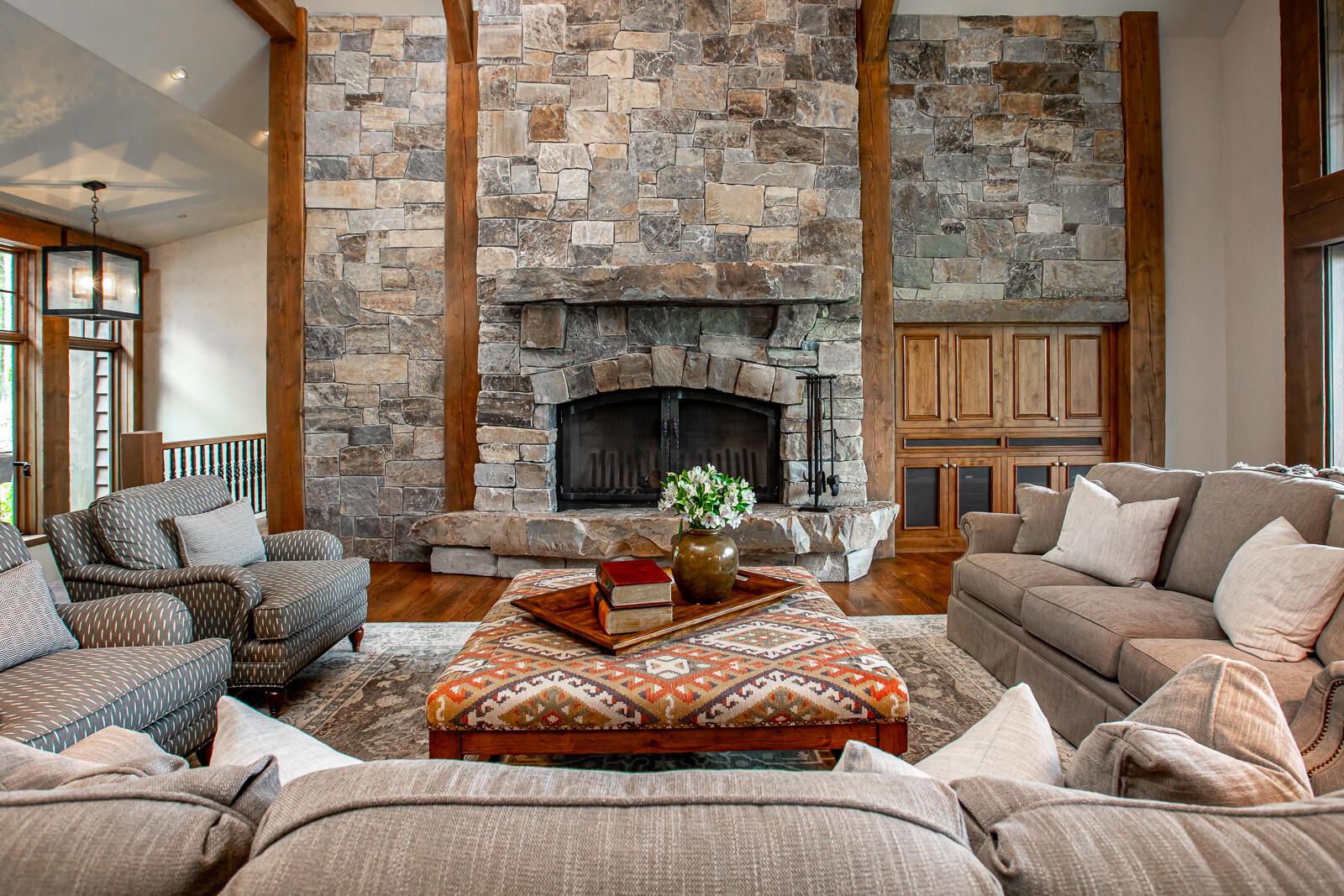 Main Floor Fireplace