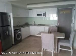 Departamento En Renta En Alvaro Obregón, Santa Fe, Mexico, MX RAH: 16-10