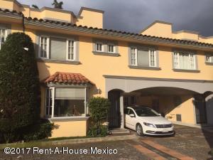 Casa En Renta En Cuajimalpa De Morelos, Cuajimalpa, Mexico, MX RAH: 17-104
