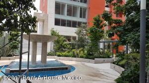 Departamento En Renta En Santa Fe Cuajimalpa - Código: 17-173