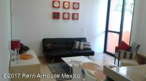 Departamento En Renta En Cuajimalpa - Código: 17-187