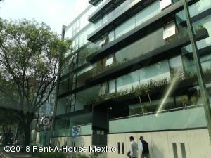 Departamento En Renta En Polanco Chapultepec - Código: 18-87