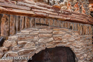 Detail: FIreplace