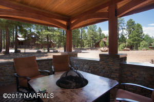 Covered Patios and Firepit