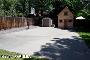 Basketball Court and Playhouse