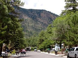 View of Mt Elden from Curb