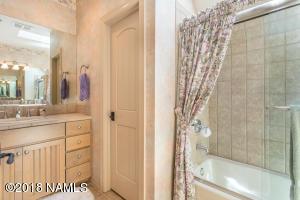 Bath 3 Has Dual Sinks and a Skylight